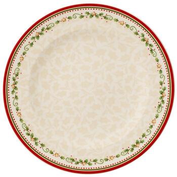 Winter Bakery Delight Dinner Plate : Falling Star 10.5 in