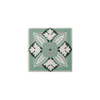 Table Accessories Coaster Set 2 : Jade Caro 4.25 in
