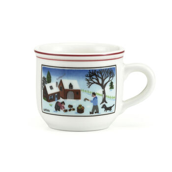 Design Naif Christmas Espresso Cup, 3.25 Ounces