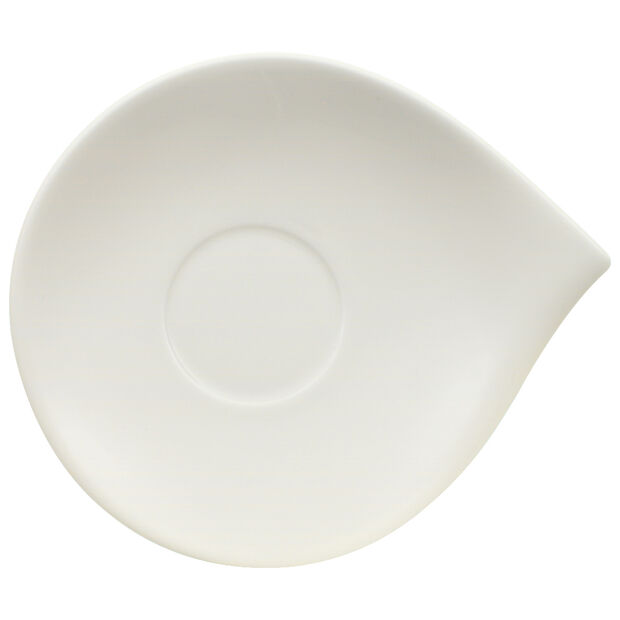 Flow Teacup Saucer 7 x 6 in, , large