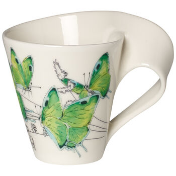 NWC Deep Green Hairstreak Mug : Gift Boxed 10 oz