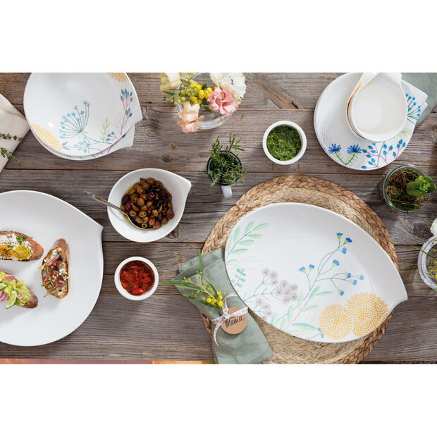 Flow Couture Salad Plate 9x8.5 in, , large