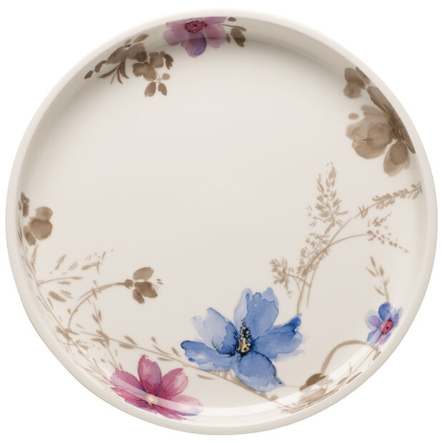 Mariefleur Gris Baking Dishes Round Serving Dish/Lid 11.75 in, , large