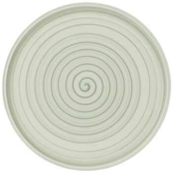 Artesano Nature Vert Buffet/Pizza Plate 12.5 in