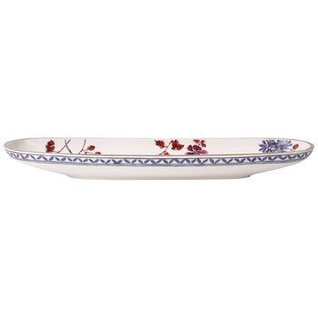 Artesano Provencal Lavender Bread Stick Dish 17x5.5 in