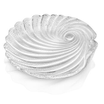 St Tropez Salad Plate: Clear 8.25in