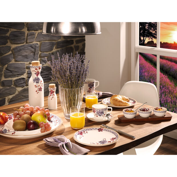 Artesano Provencal Lavender Tea Cup Saucer 6.25 in, , large