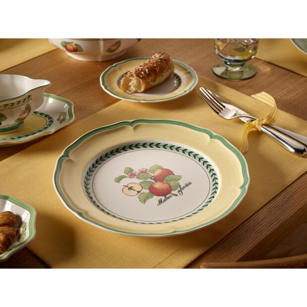 French Garden Valence Apple Dinner Plate 10 1/4 in, , large