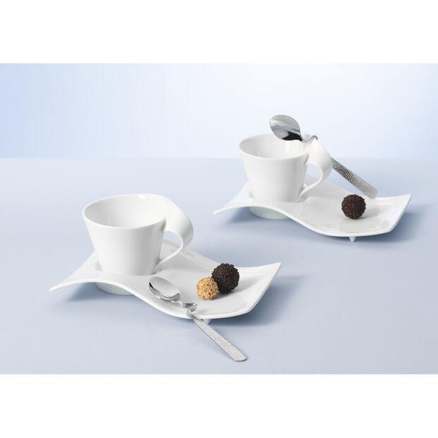 New Wave Caffè Teaspoon 6 3/4 in, , large