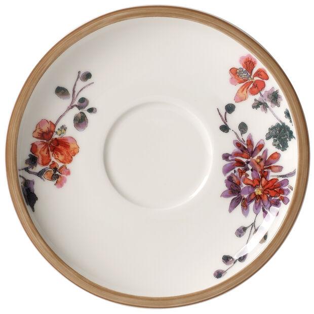 Artesano Provençal Verdure Tea Cup Saucer 6 1/4 in, , large