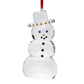 Crystal House Crystal Snowman Ornament