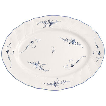 Old Luxembourg Oval Platter 14 in