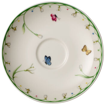 Colourful Spring Coffee Cup Saucer