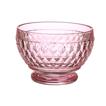 Boston Colored Individual Bowl : Rose 4.75 in