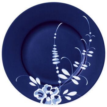 Old Luxembourg Brindille Salad  Plate : Blue 8.75 in