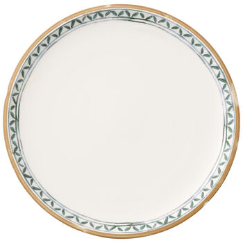 Artesano Provencal Verdure Dinner Plate : White Well 10 1/2 in