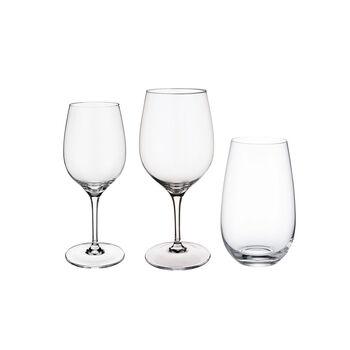 Entrée 12 Piece Crystal Glass Wine Set
