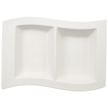 New Wave Divided Serving Tray 12 1/4 in