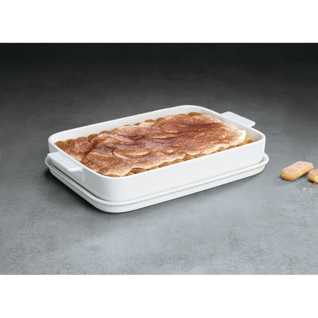 Clever Cooking Large Rectangular Baker with Lid, , large