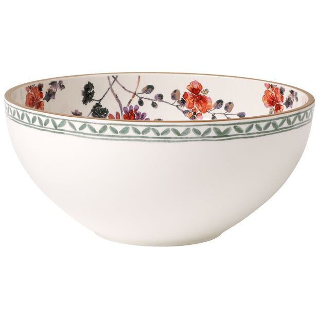 Artesano Provencal Verdure Round Vegetable Bowl 9 1/2 in, , large