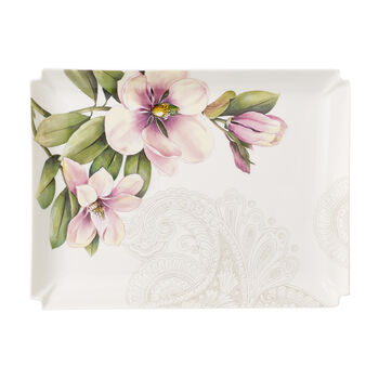 Quinsai Garden Gifts Large Serving Tray 11x8.25 in