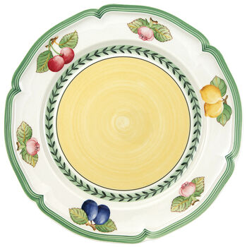 French Garden Fleurence Dinner Plate 10 1/4 in