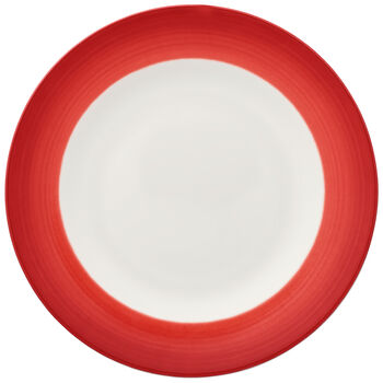 Colorful Life Deep Red Salad Plate 8 1/2 in