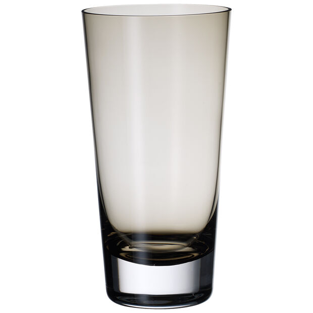 Colour Concept Highball Glass, Smoke 6 1/4 in, , large