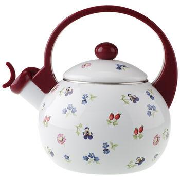Petite Fleur Kitchen Tea Kettle 67 1/2 oz