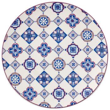 Indigo Caro Coupe Salad Plate 8.25 in