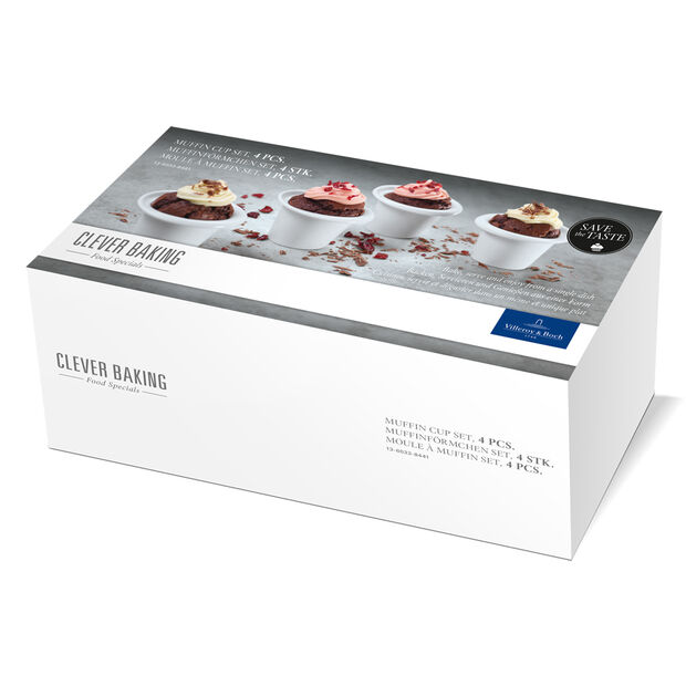 Clever Baking Muffin Cup (3.25 oz) Set of 4 3.5x2 in, , large