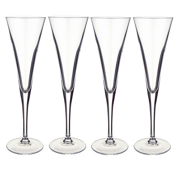 Purismo Champagne Flutes, Set of 4, , large