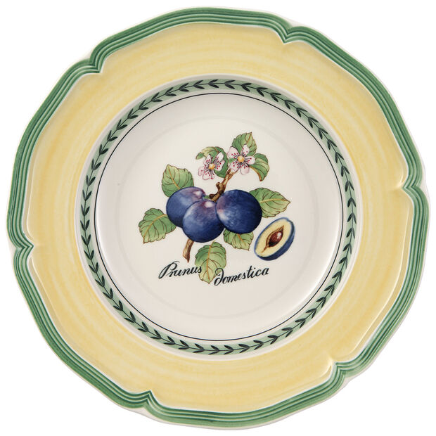 French Garden Valence Plum Soup Bowl 9 in, , large