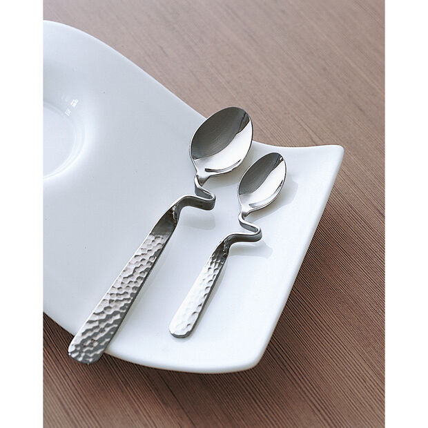 New Wave Caffè Demitasse Spoon 4 3/4 in, , large