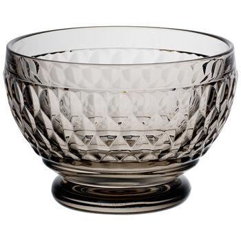Boston Colored Individual Bowl-Smoke : Set of 4 4.75 oz