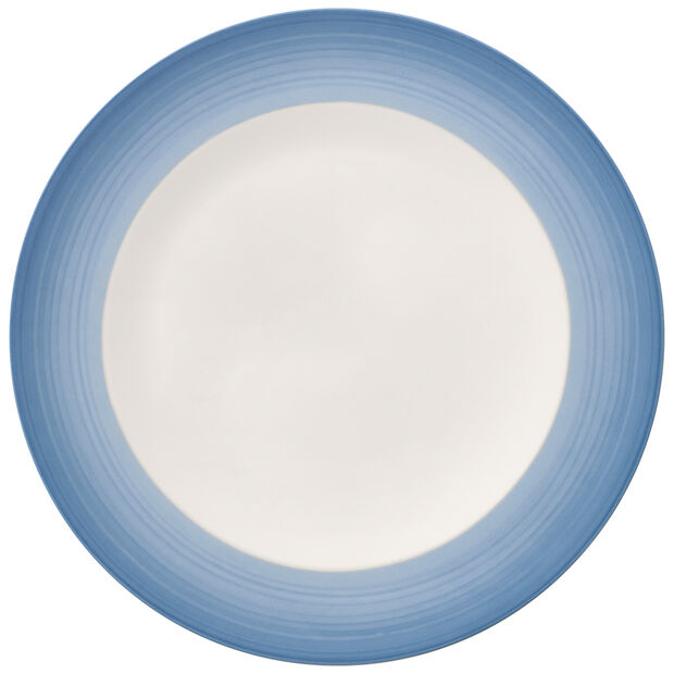 Colorful Life Winter Sky Dinner Plate 10.5 in, , large