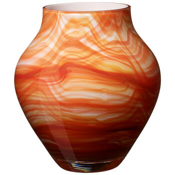 Orondo Vases Vase : Fire 8.25 in