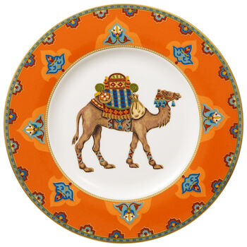 Samarkand Mandarin Salad Plate 8 1/2 in