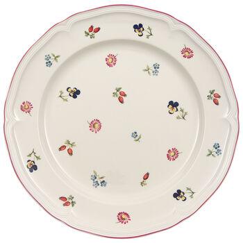 Petite Fleur Dinner Plate 10 1/2 in