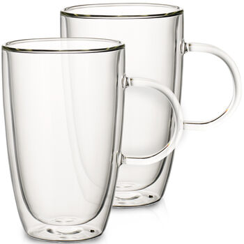 Artesano Hot&Cold Beverages Extra Large Mug, Set of 2 5.5 in