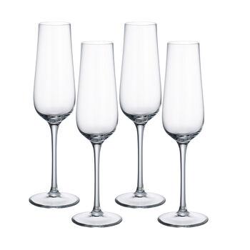 Purismo Champagne Glasses, Set of 4