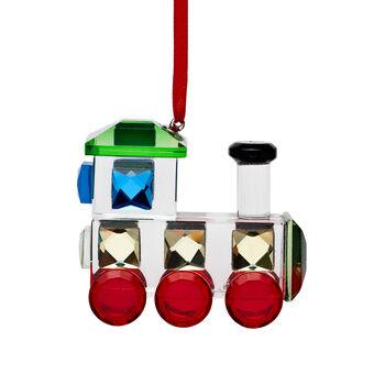 Crystal House Crystal Train Ornament