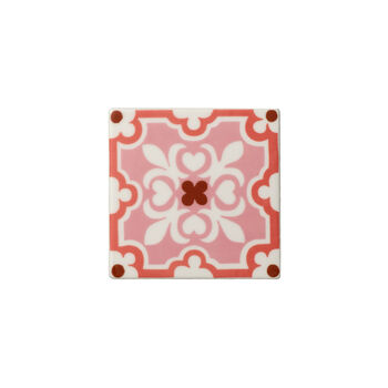 Table Accessories Coaster Set 2 : Rose Caro 4.25 in