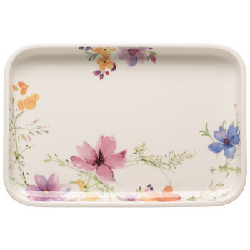Mariefleur Basic Baking Dishes Rectangular Serving Plate/Lid 12.5 in