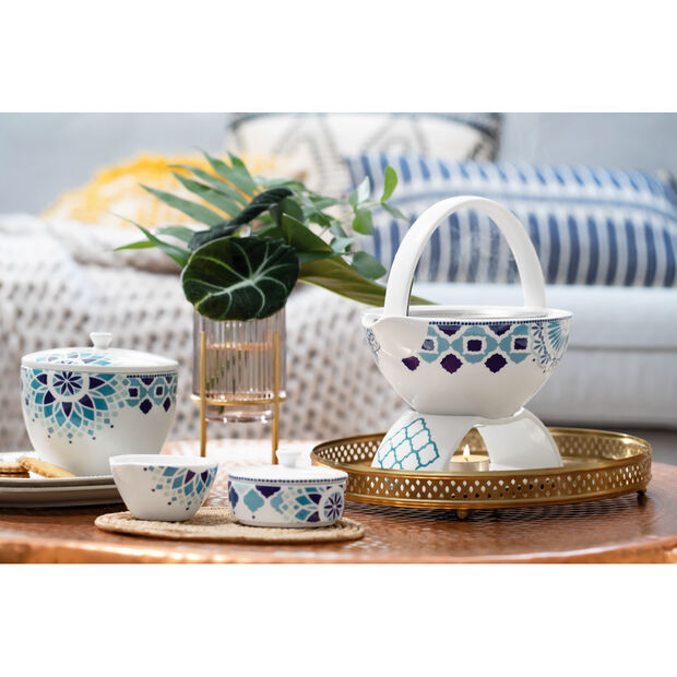 Tea Passion Medina Set of Two Snack Plates, , large
