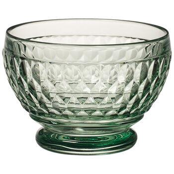 Boston Colored Individual Bowl, Green 4 3/4 in