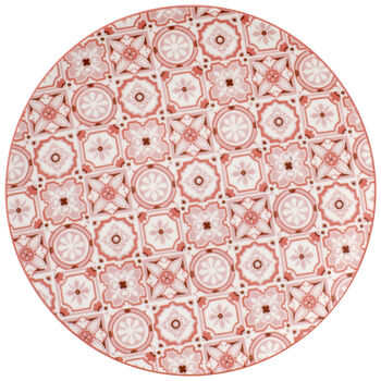 Rose Caro Coupe Salad Plate 8.25 in