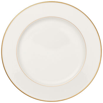 Anmut Gold Round Platter 12.5 in