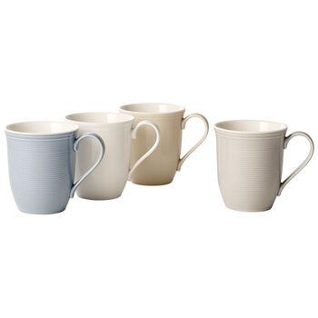 Color Loop Mug : Asst Set of 4