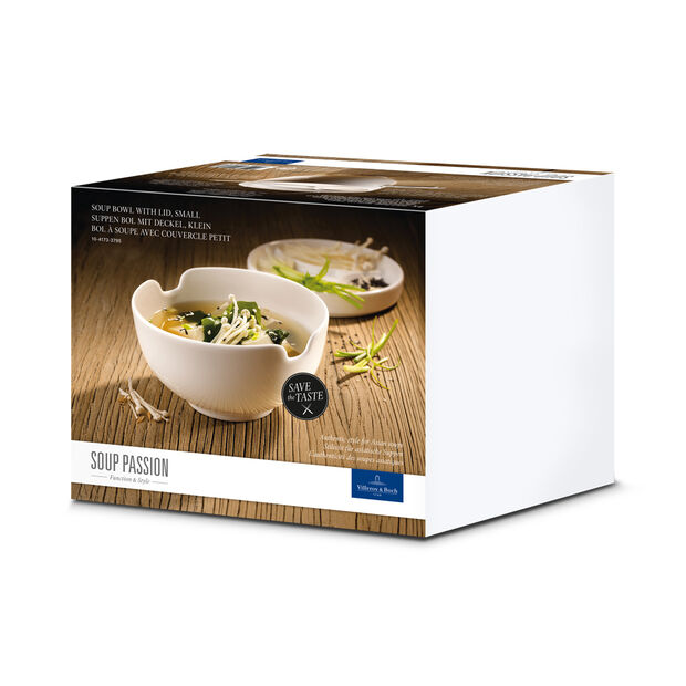 Soup Passion Asia Bowl with Lid 5 in, , large